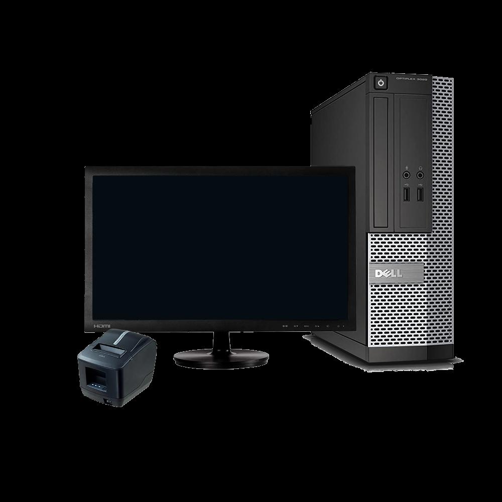 Pokladní sestava - Monitor a stolní PC